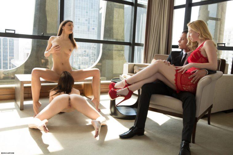 X-Art Kaylee, Jenna & Sammy in Brazilian Love Affair with Jake 7