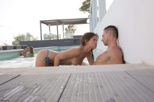 X-Art Caprice & Carrie in 2 by 2 with Jake and Marcello 13