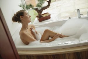 X-Art Ivy in Hot Bath for Two with Sebastian  13