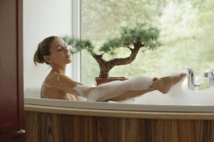 X-Art Ivy in Hot Bath for Two with Sebastian  15