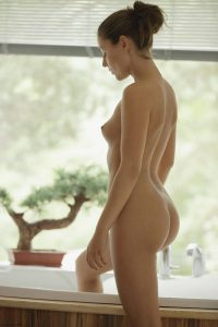 X-Art Ivy in Hot Bath for Two with Sebastian  8
