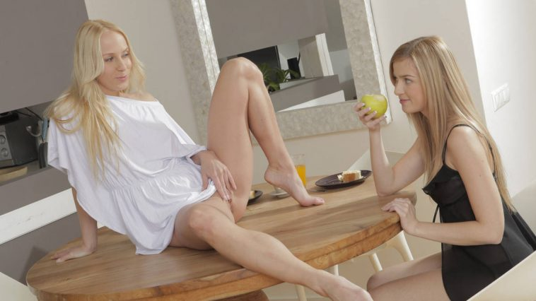 X-Art Carla & Abby Roommates 5