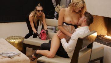 X-Art Jillian & Blake Eden in The Pussy Cat Burglar with Van Wylde 5