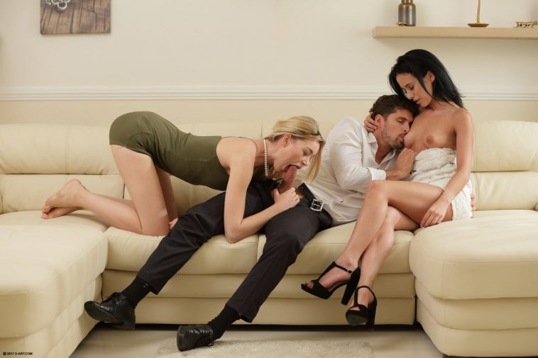 Surprise Sex For Three With Anny Aurora  Niki  X-Art -8847